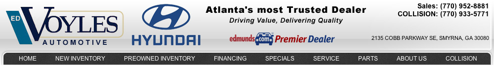 Ed Voyles Hyundai Air Conditioning Services